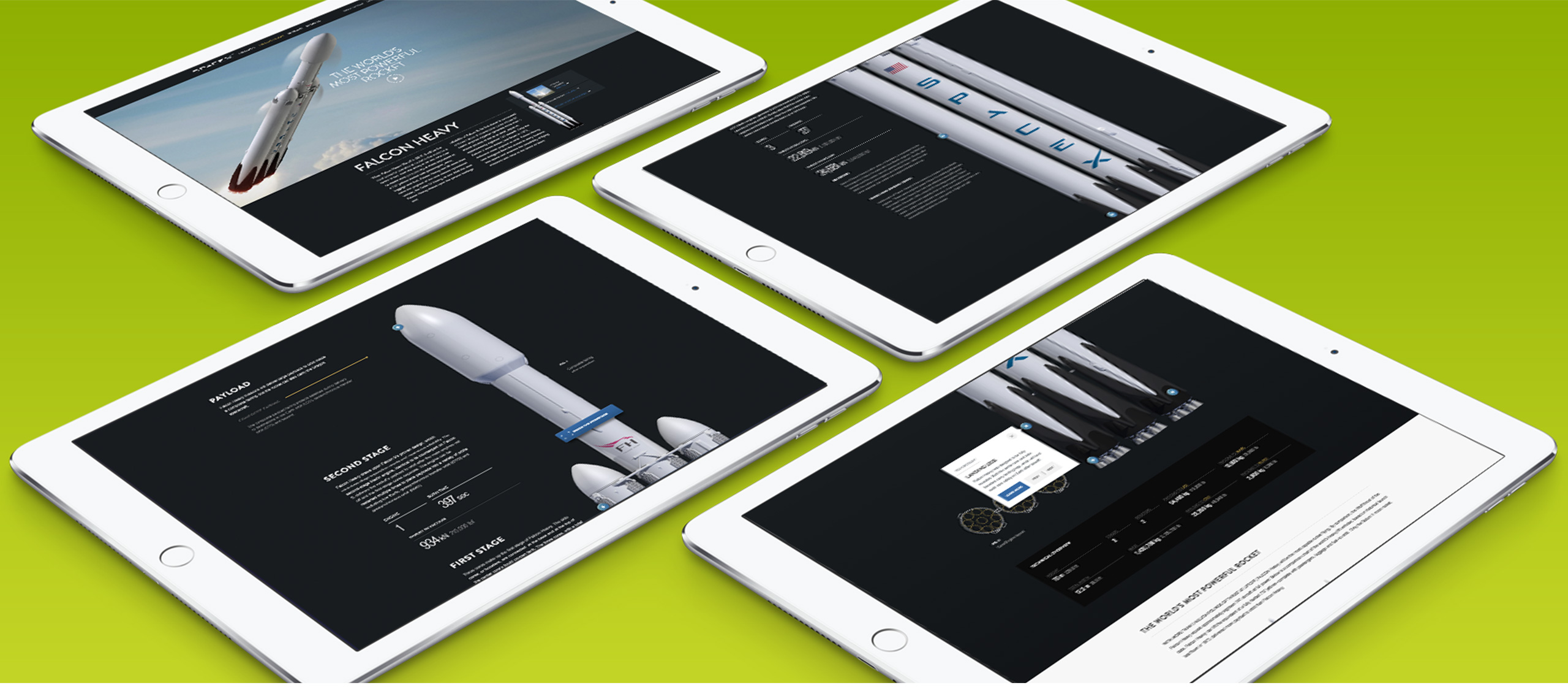 more spacex on ipad