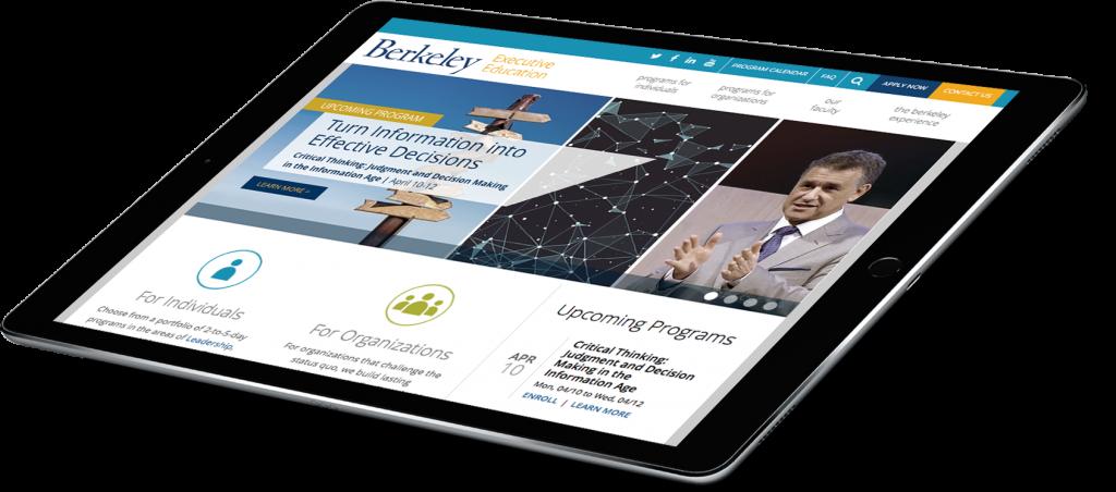UC Berkeley iPad (Header)