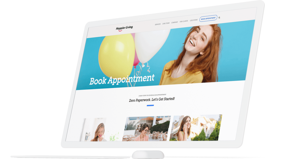 Happier Living Case Study Asset in White - 1