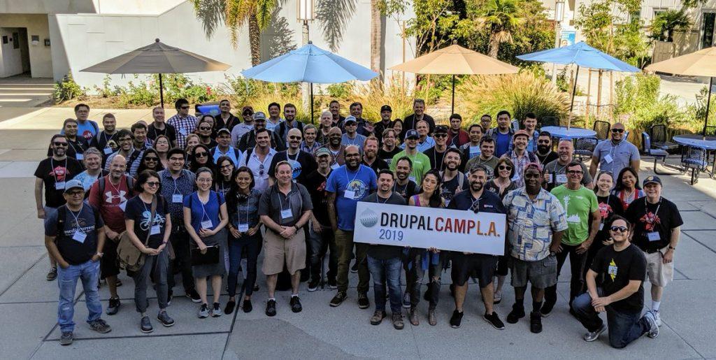 DrupalCampLA 2019 Group Photo